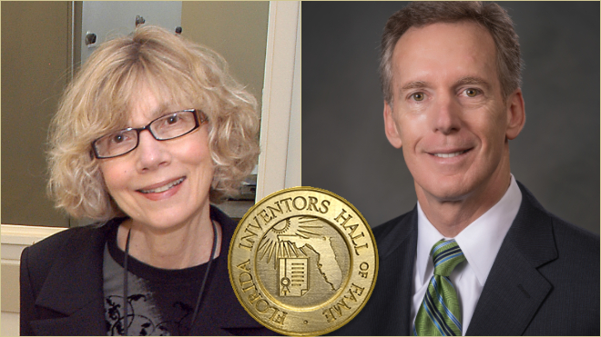 USF Alum Joanna Fowler, Moffitt CEO Alan List Inducted into Florida Inventors Hall of Fame
