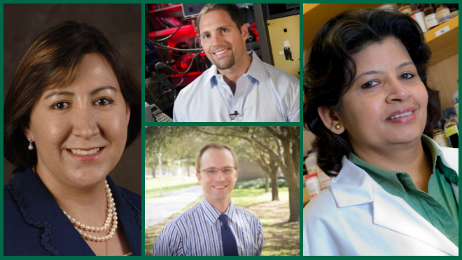 Four from USF Named Inaugural National Academy of Inventors Senior Members