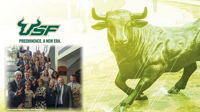 "USF Officially Designated as ""Preeminent"""