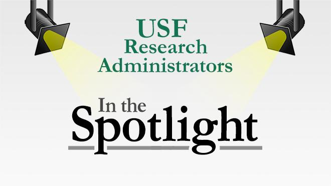 USF Research Administrators in the Spotlight.