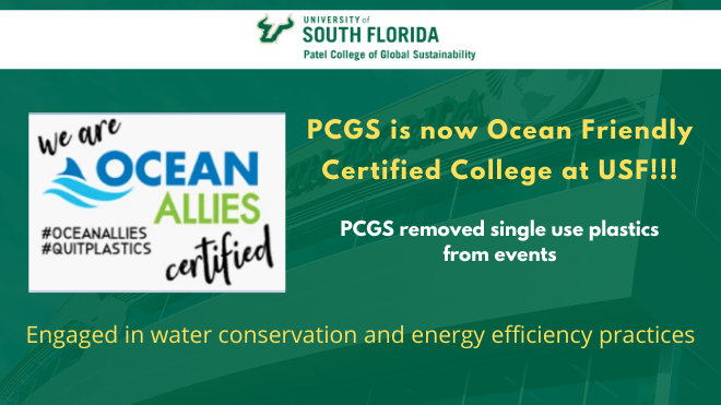Certified Ocean friendly
