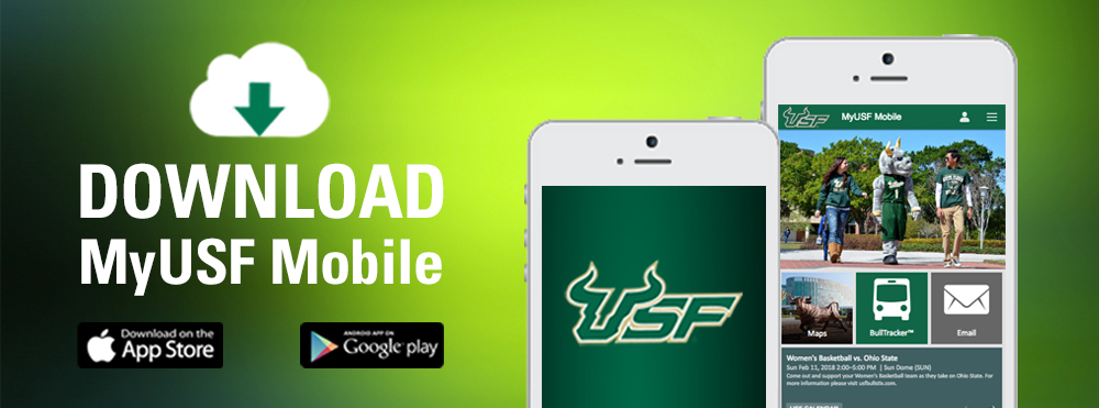 MyUSF Mobile graphic