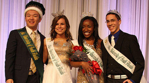 The 2013-14 and 2014-15 Mr. & Ms. USF