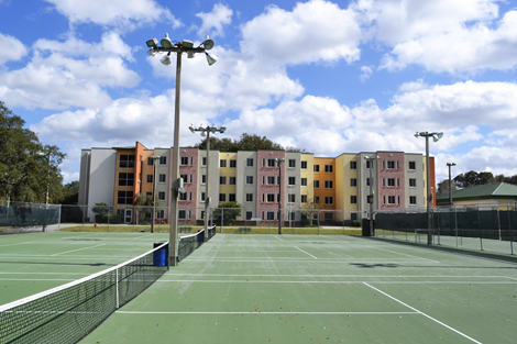 andros tennis court for rent reservation event venue