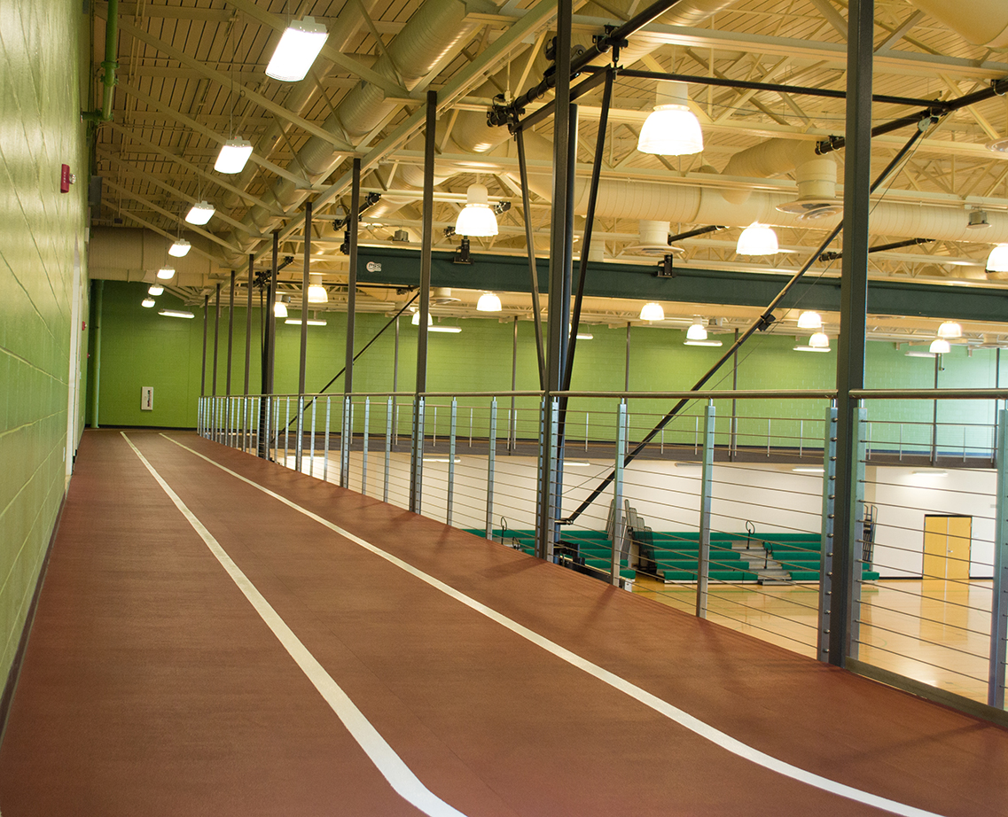 indoor track running fitness venue reservation rental space usf campus rec recreation