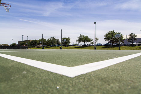 basketball courts rental