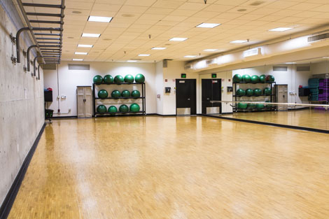 room 033 fitness room venue reservation rental space usf campus rec recreation