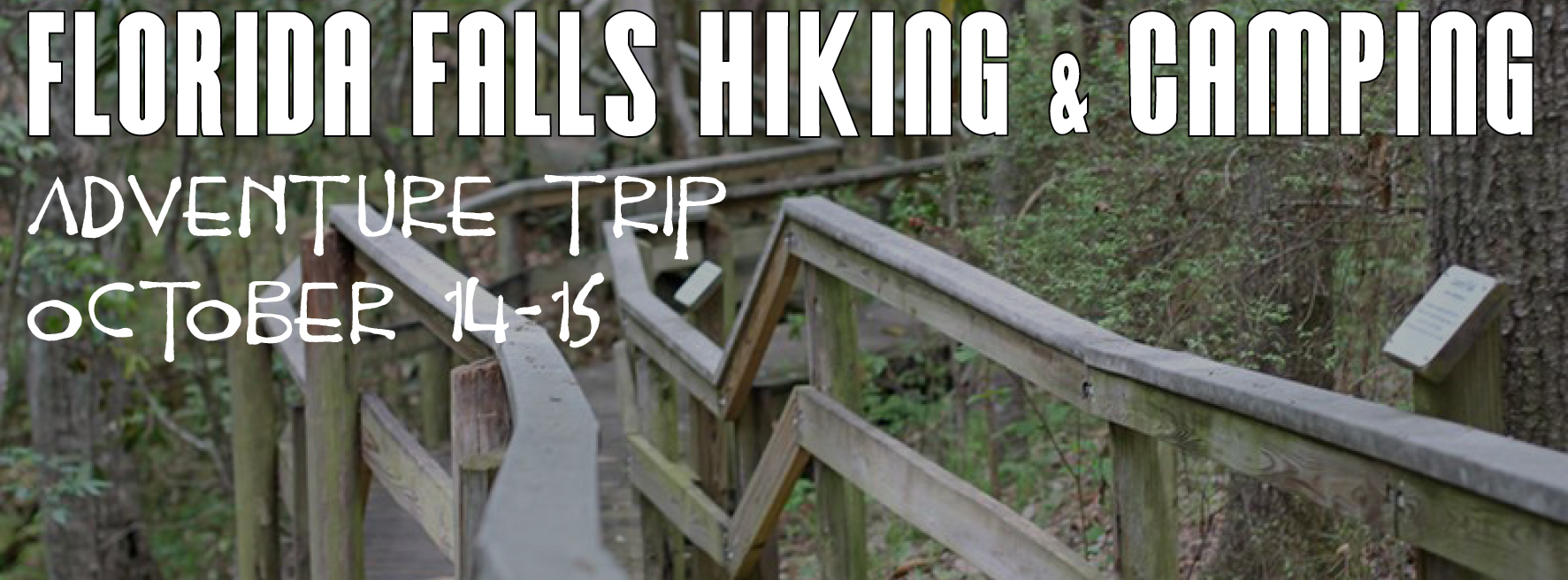 florida falls hiking and caving adventure trip