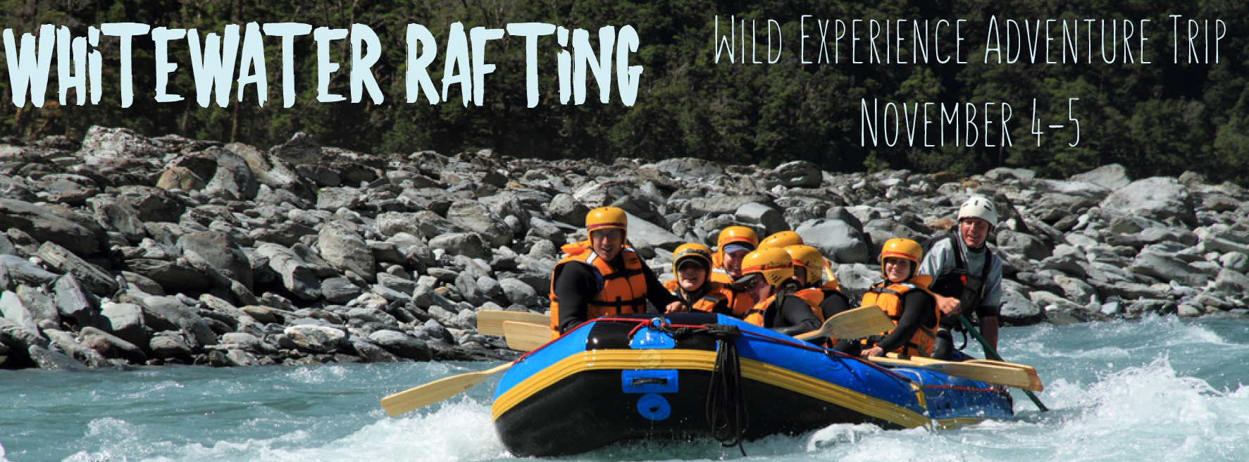 wild experience whitewater rafting adventure trip
