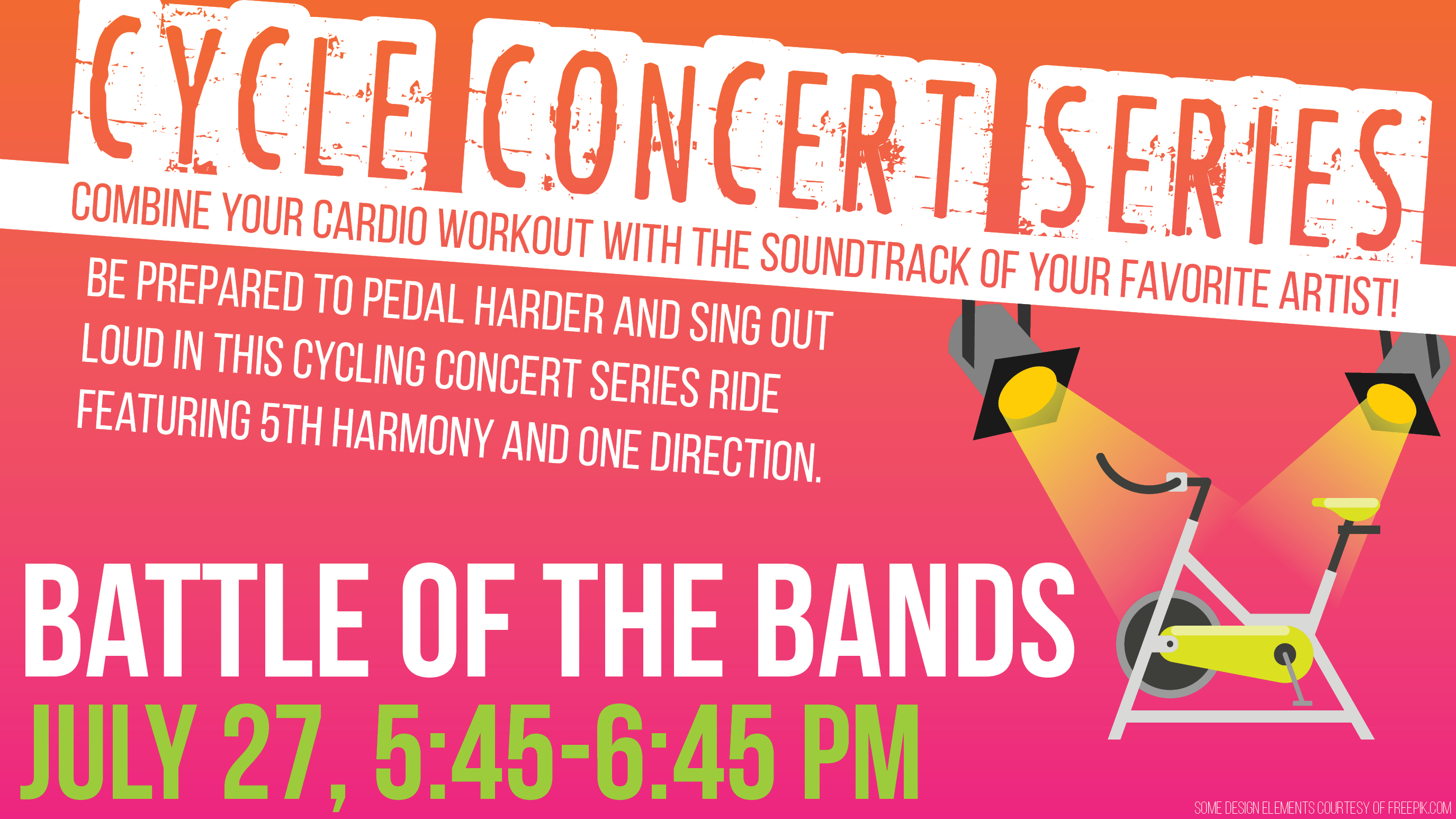 Cycle Concert Series: Battle of the Bands