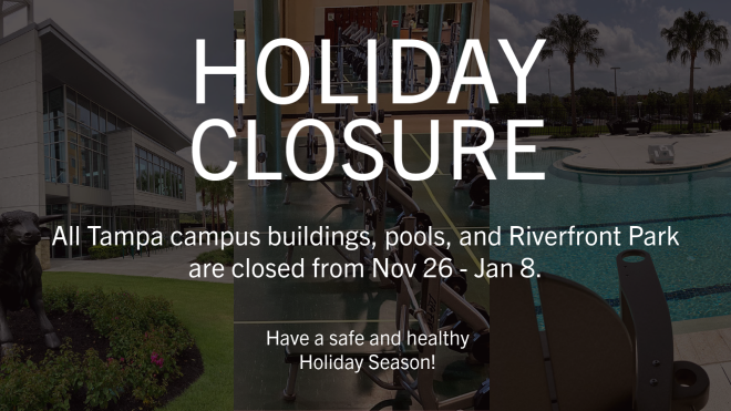 Holiday Closure 2020