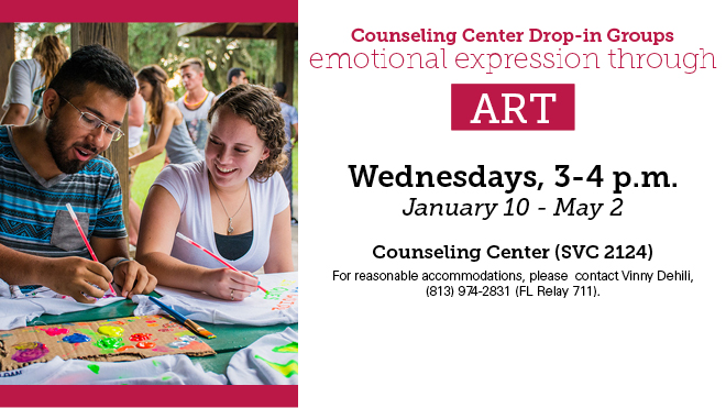 Emotional Expression through Art Drop In Group