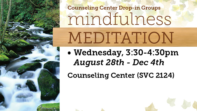 Mindfulness Meditation Drop-In Therapy Group