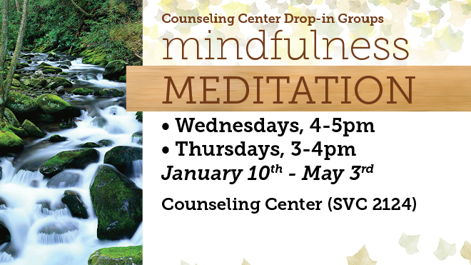Mindful Meditation Drop In Group