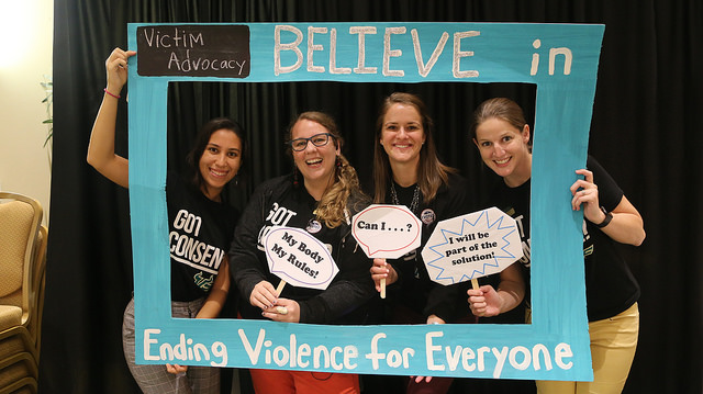 "CVA staff at ""Hungry for Consent"" Fall 2018"
