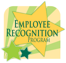 Employee recognition program logo