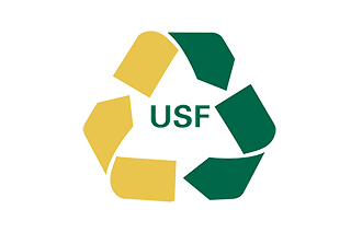 USF recycle logo