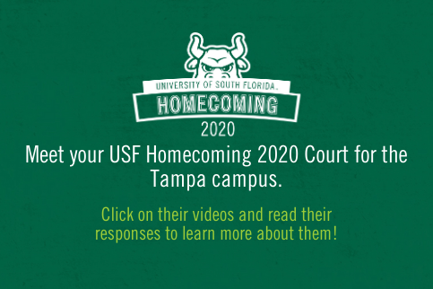 Homecoming Court Announcement