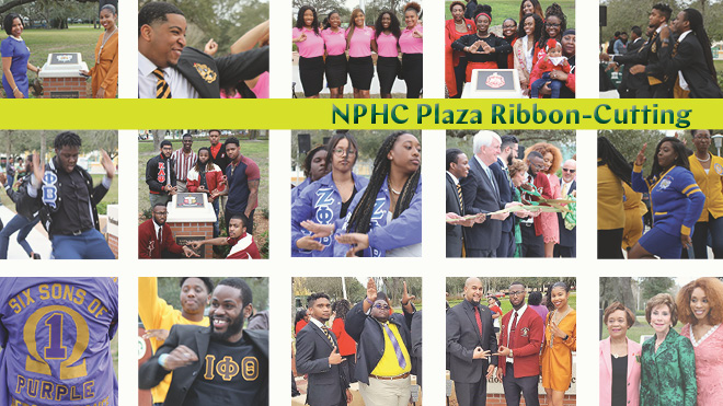 NPHC Plaza Ribbon Cutting
