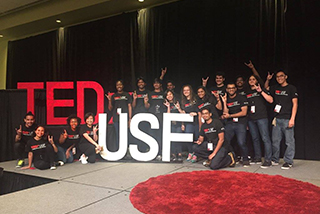 Ted talks at USF