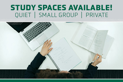 Study Spaces Available