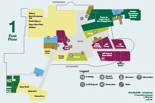 MSC first floor plans