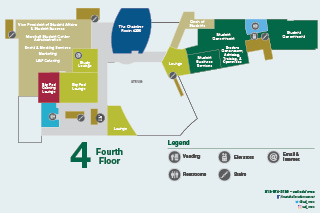 MSC 4th Floor Plan