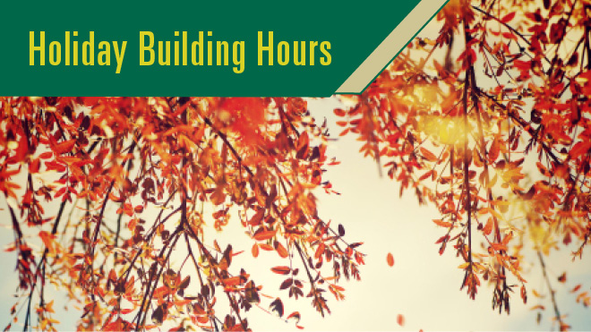 Thanksgiving Building Hours