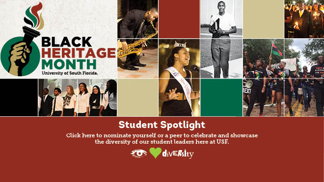 Nominate a student for Black Heritage Month Student Spotlight