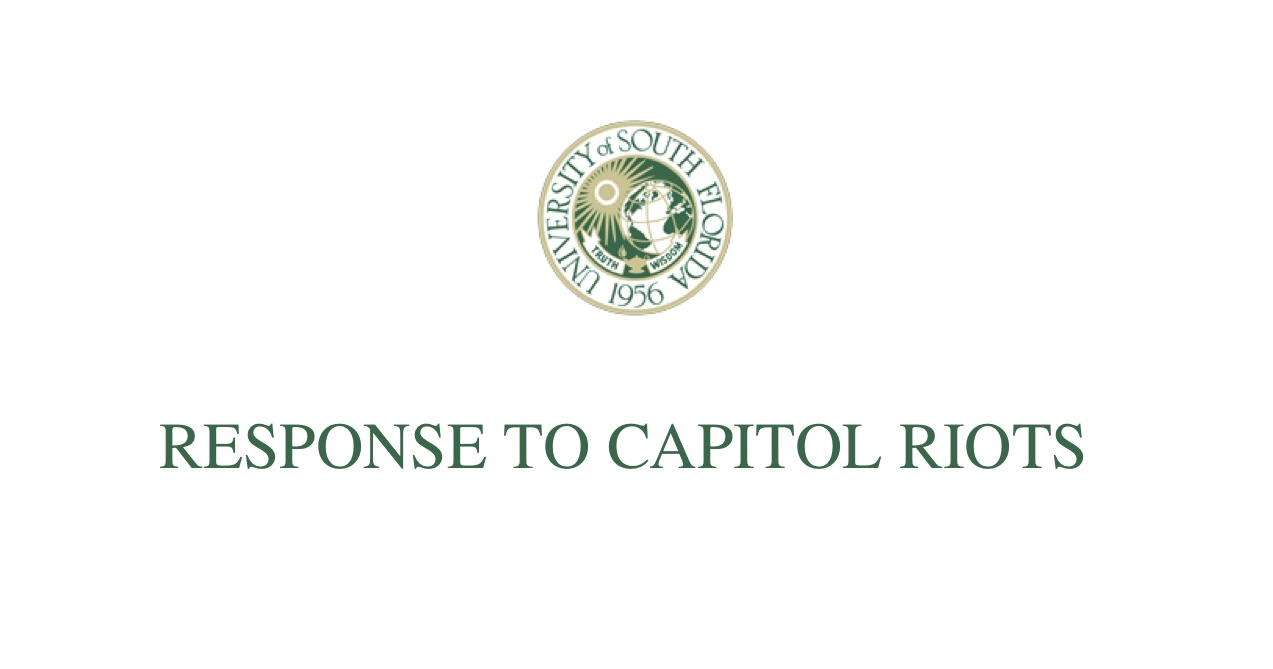 Response to Capitol Riots