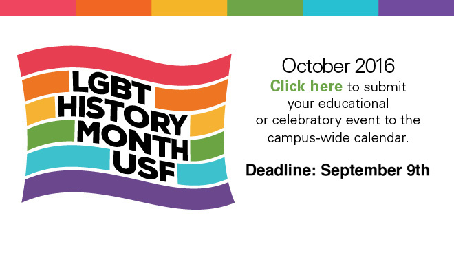 LGBT History Month: Call for Programs