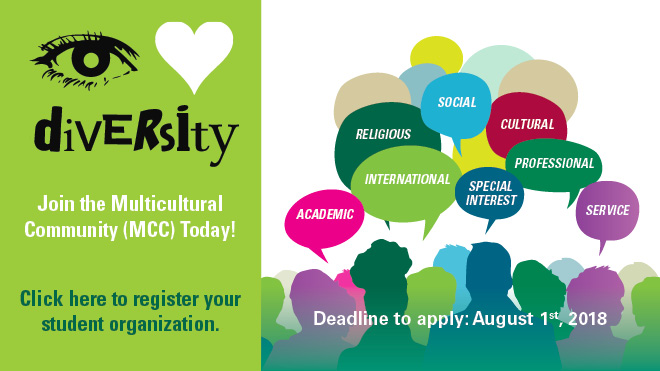 Join the Multicultural Community (MCC) Today!