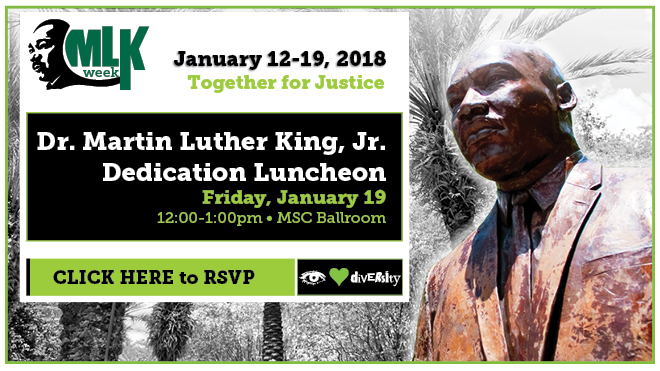 RSVP to the MLK Dedication Luncheon