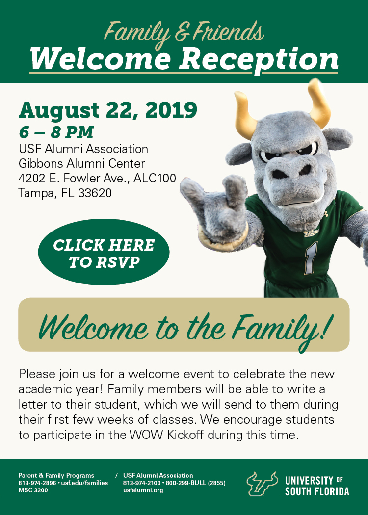 Fall Welcome Reception