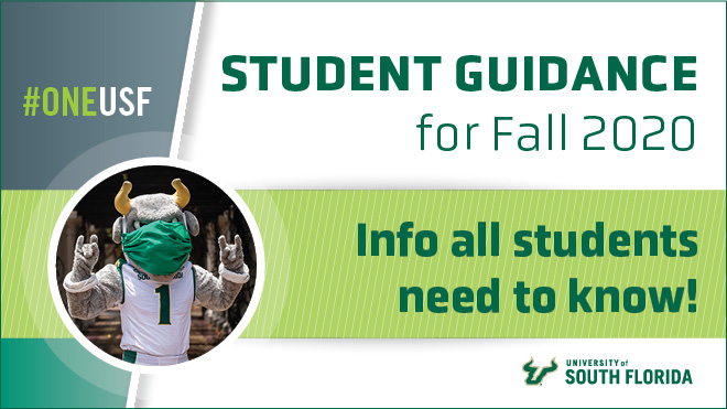 Student Guidance for Fall 2020 cover image