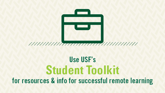 graphic for student toolkit for academic continuity