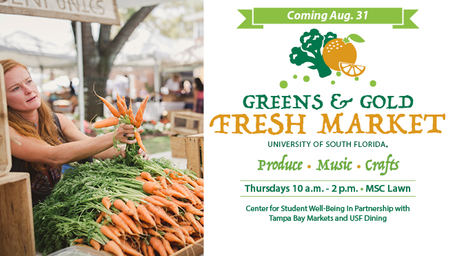 Greens & Gold Fresh Market Coming Soon
