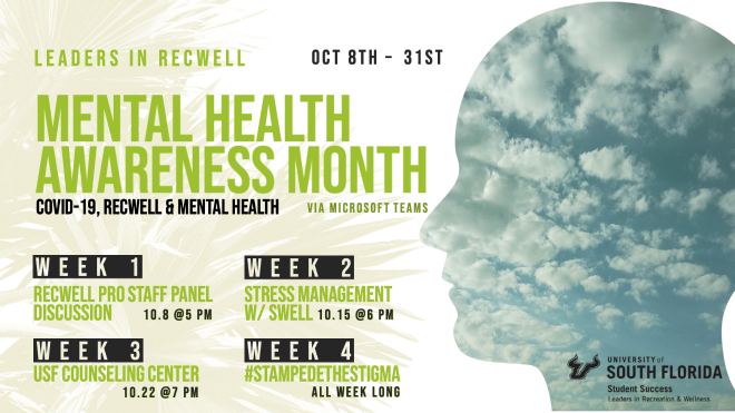 Mental Illness Awareness Week takes place from October 4-10, 2020.