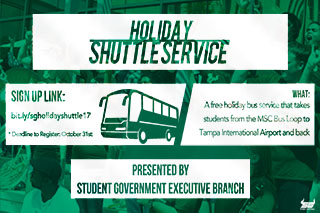 Holiday Shuttle Service
