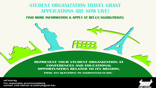 Student Organization Travel Grant