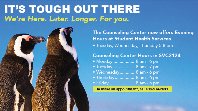 Counseling Center Extended Hours