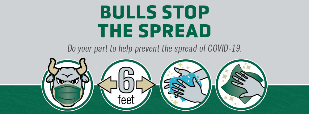 Wellness Campaign - Bulls Stop the Spread of COVID-19
