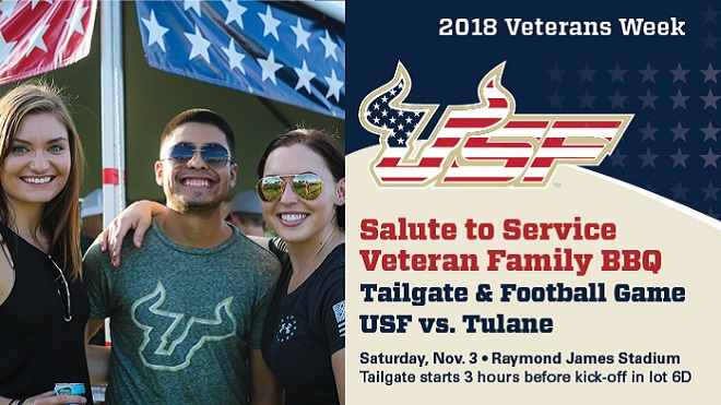 Salute to Service Tailgate & Football Game