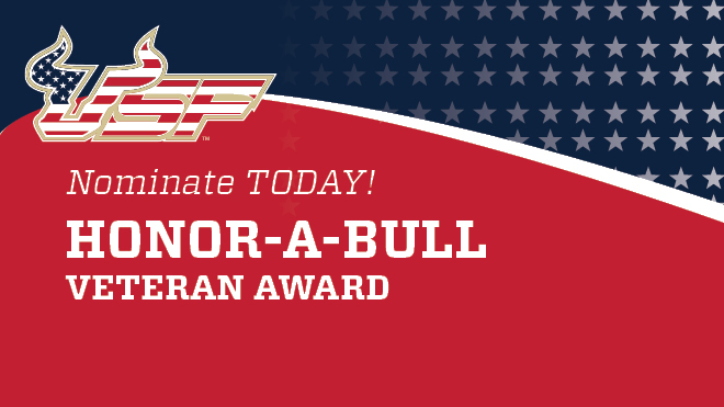 Honor-a-Bull Veteran Award graphic