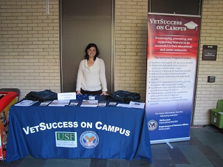 Jeanine Frederick, Vet Success on Campus Counselor