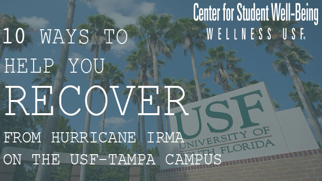 tips to recover on top of USF sign