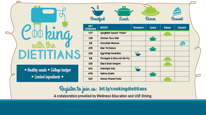 cooking with the dietitians