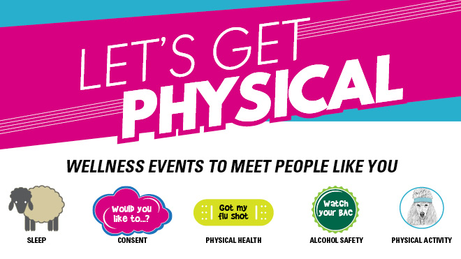Let's get physical health and wellness promotion