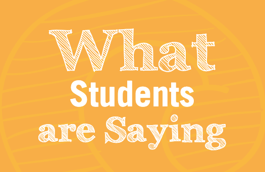 what students are saying