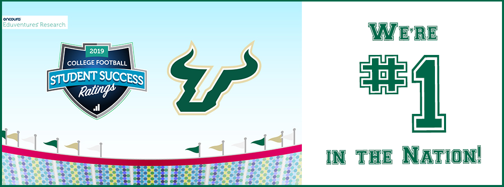 USF is ranked #1 in nation by Eduvantures for Student Success